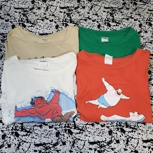 4 Threadless shirts in Guys Large